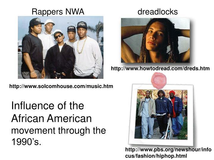 Rappers NWA