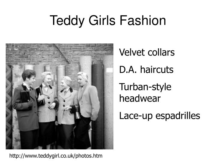 Teddy Girls Fashion