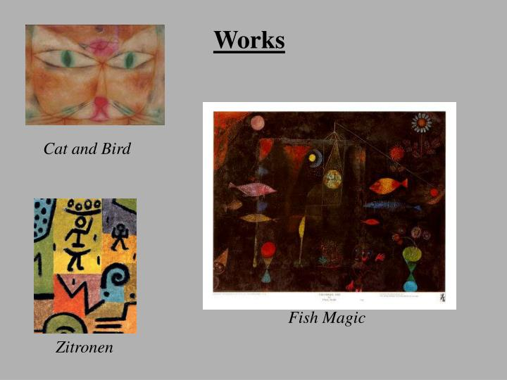 The Life and works of Paul Klee