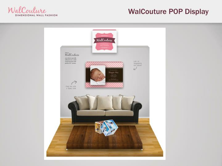 WalCouture POP Display