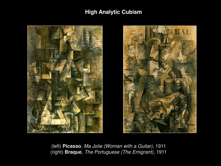 High Analytic Cubism