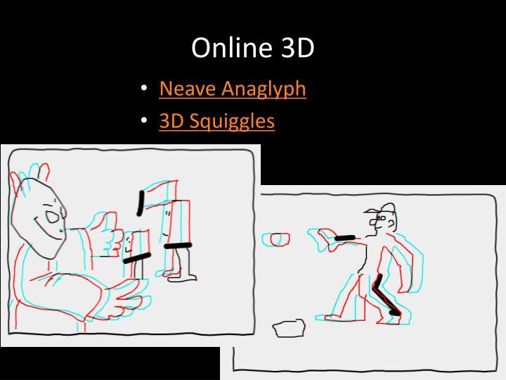 Online 3D