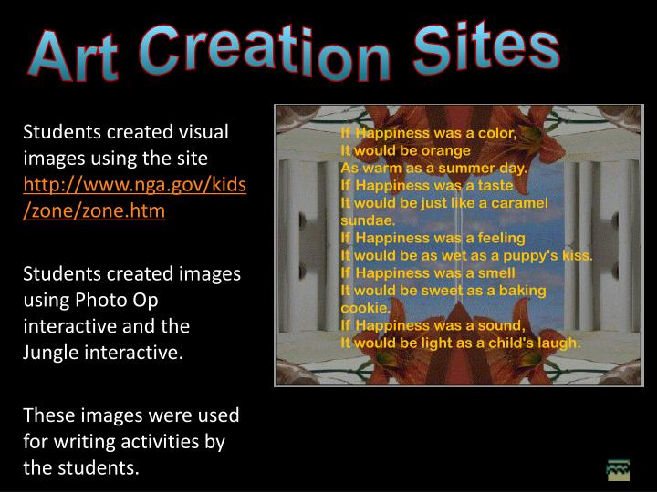 Art Creation Sites