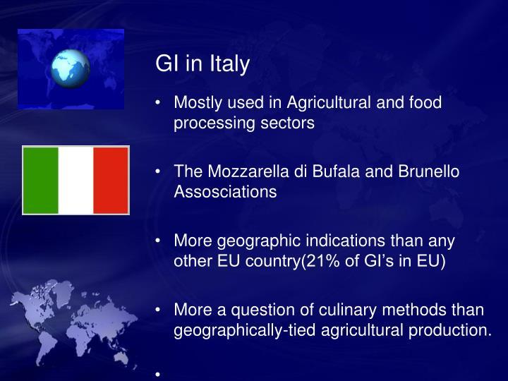 GI in Italy