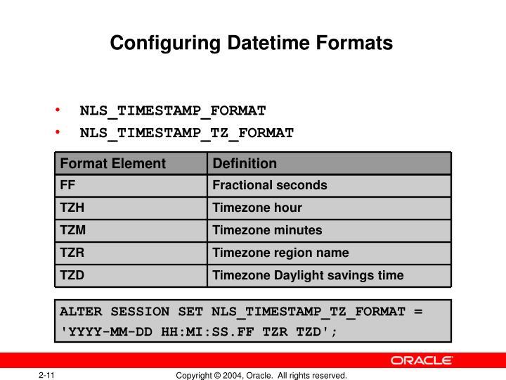 Format Element