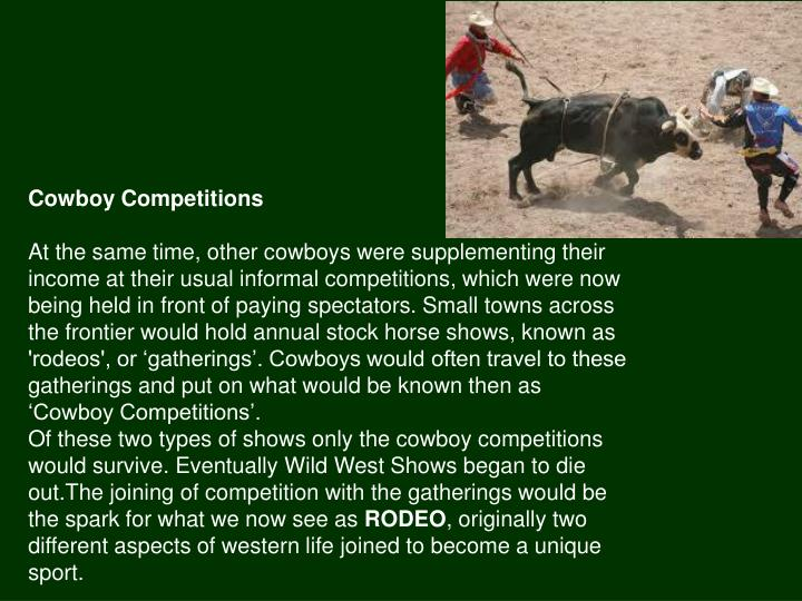Cowboy Competitions