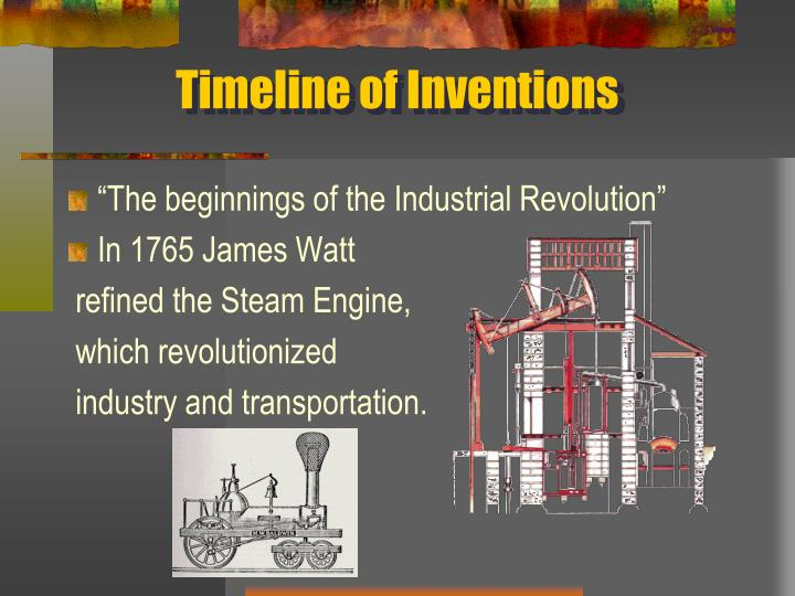Timeline of Inventions