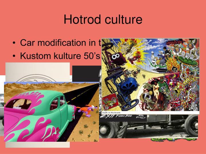 Hotrod culture