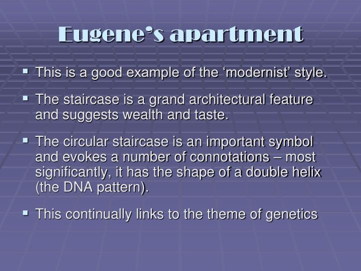 Eugene's apartment