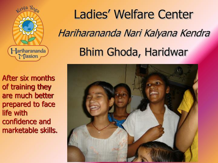 Ladies' Welfare Center