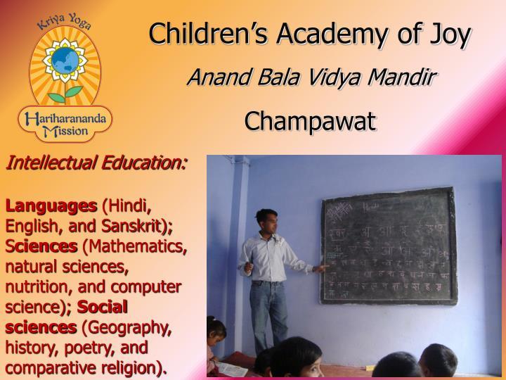 Children's Academy of Joy