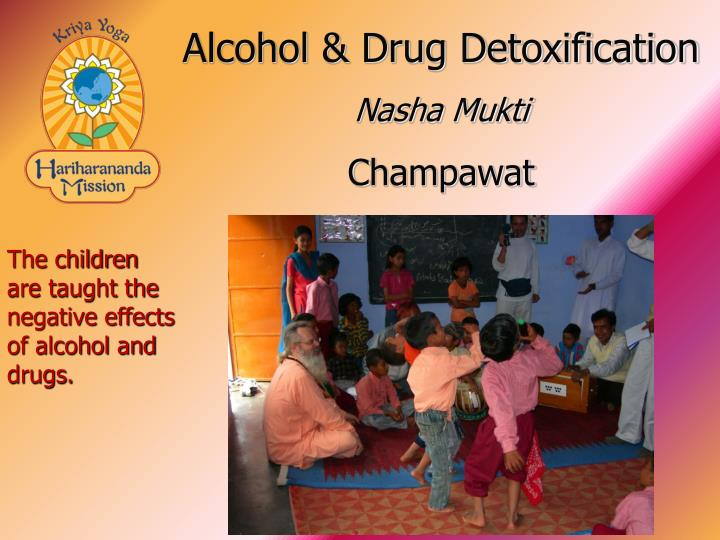 Alcohol & Drug Detoxification