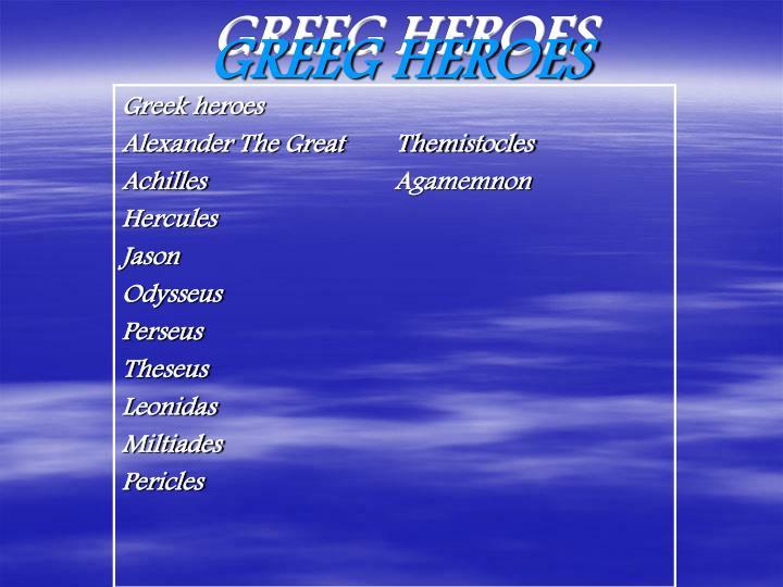 GREEG HEROES