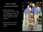 native north american peoples