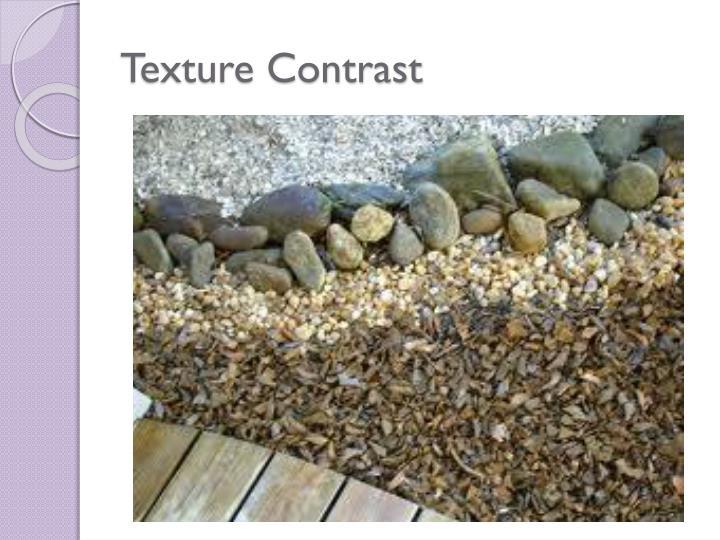 Texture Contrast