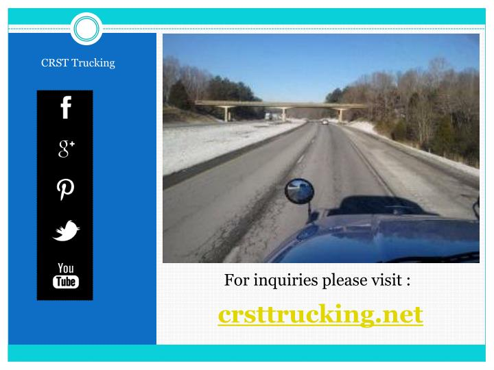 CRST Trucking