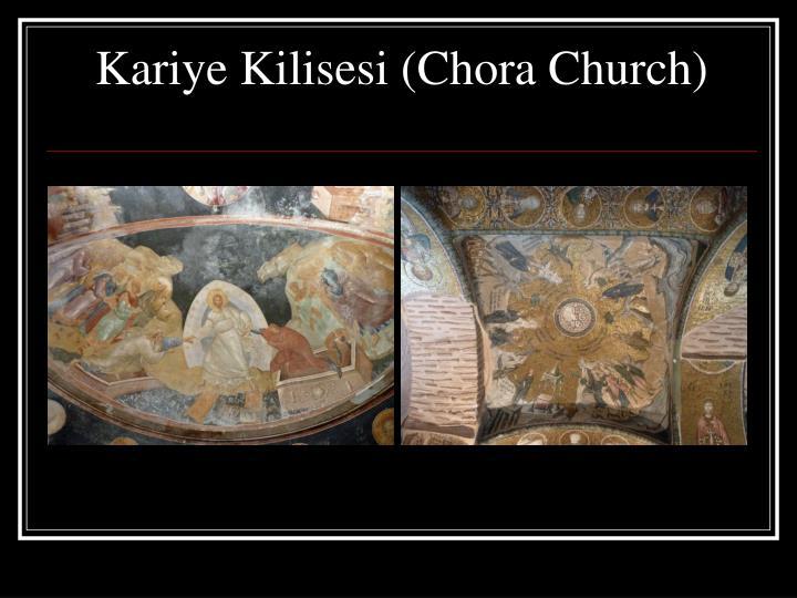 Kariye Kilisesi (Chora Church)