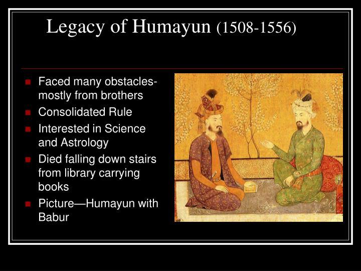 Legacy of Humayun