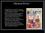 ottoman power
