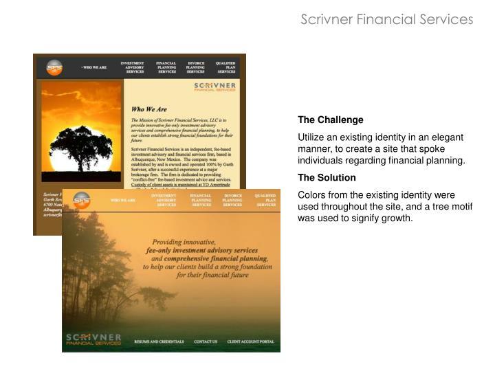 Scrivner Financial Services