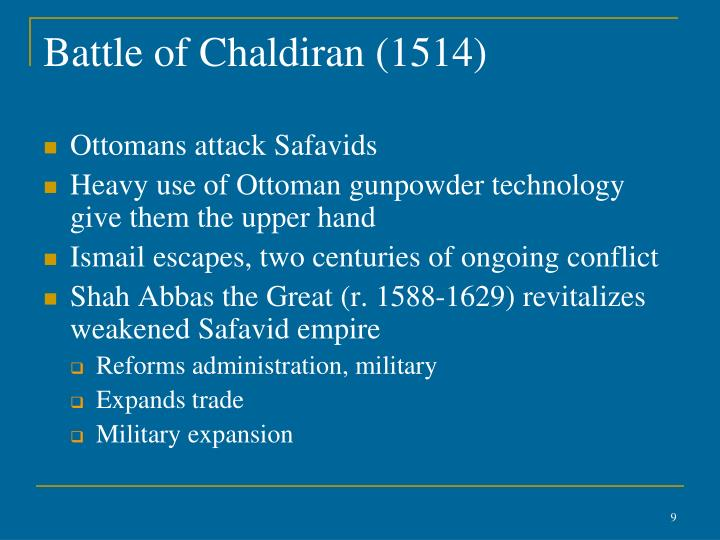 Battle of Chaldiran (1514)