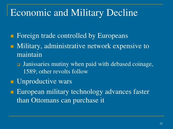 Economic and Military Decline