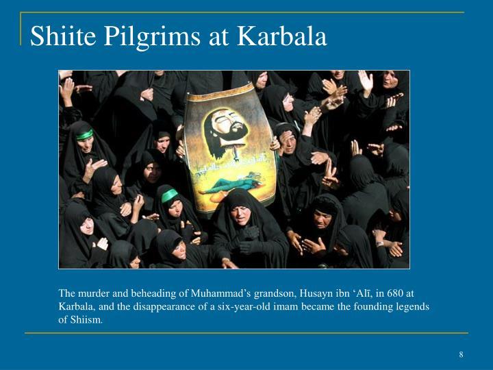 Shiite Pilgrims at Karbala