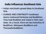 india influences southeast asia