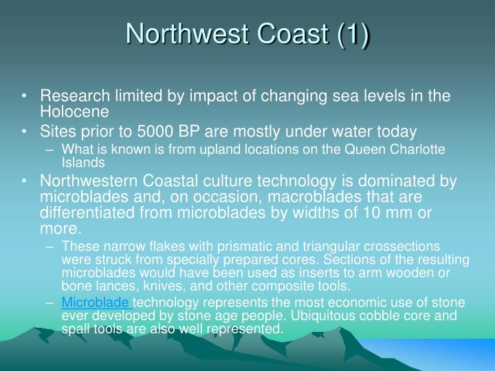 Northwest Coast (1)