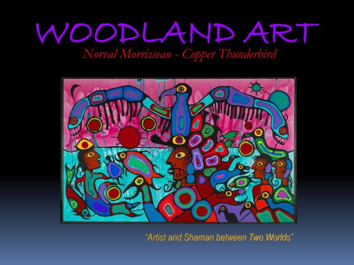 Norval Morrisseau - Copper Thunderbird