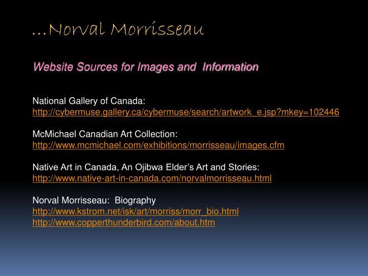 …Norval Morrisseau