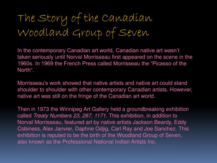The Story of the Canadian Woodland Group of Seven