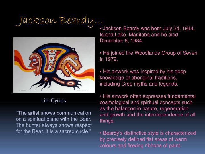 Jackson Beardy…