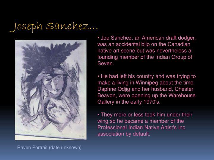 Joseph Sanchez…