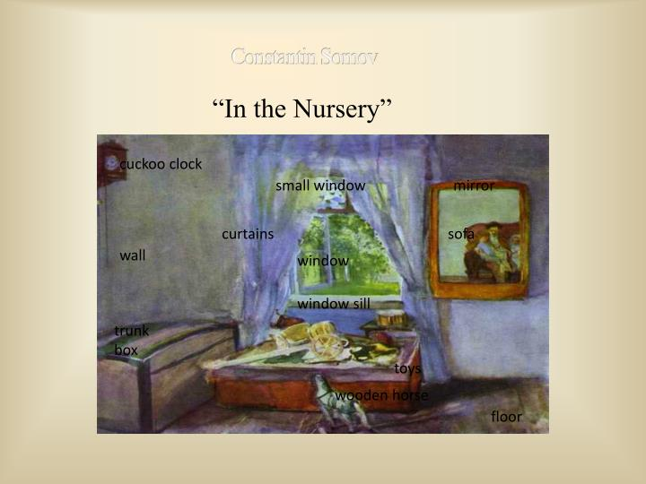 """In the Nursery"""