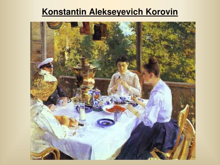 Konstantin Alekseyevich Korovin