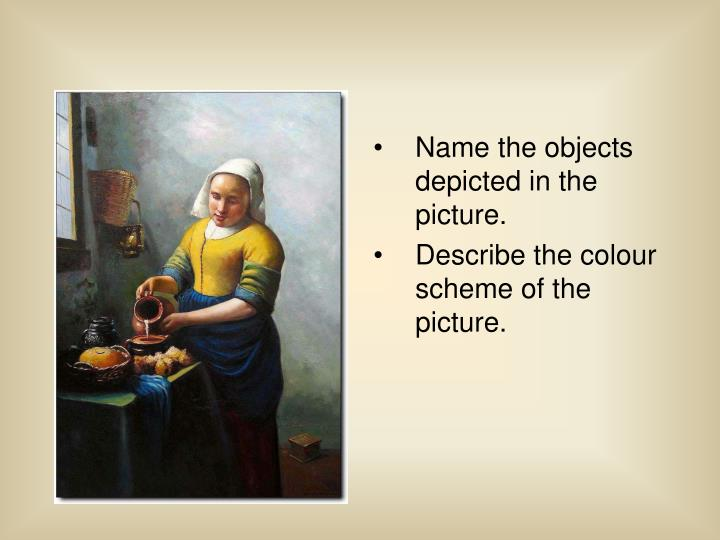 Name the objects depicted in the picture.