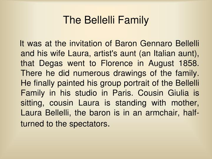 The Bellelli Family