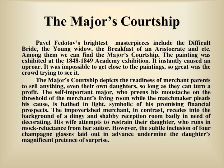 The Major's Courtship