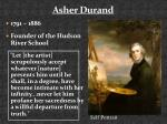 asher durand