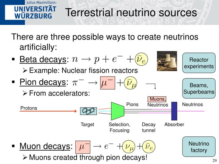 Terrestrial neutrino sources