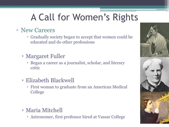 A Call for Women's Rights