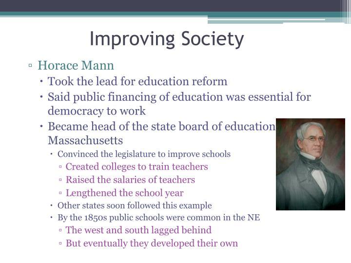 Improving Society