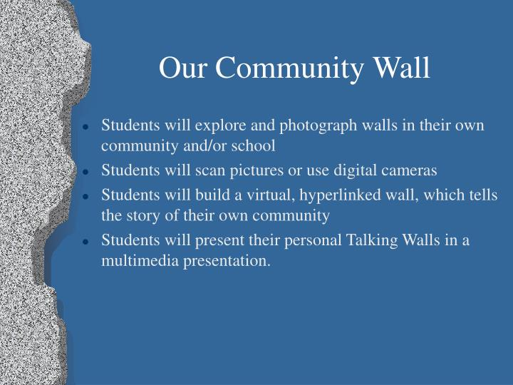 Our Community Wall