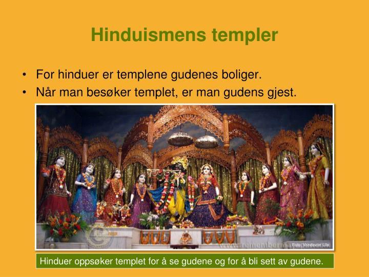 Hinduismens templer