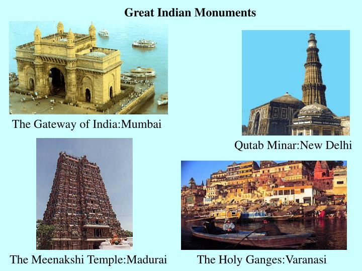 Great Indian Monuments