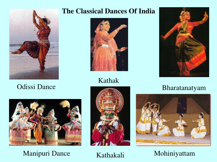 The Classical Dances Of India
