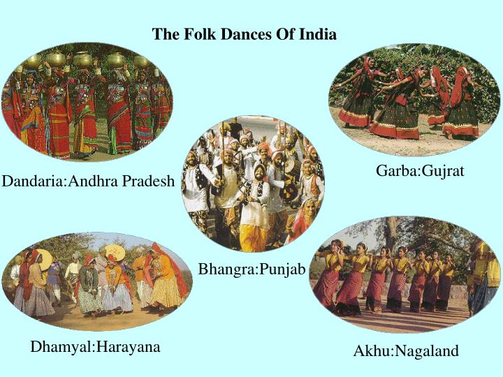 The Folk Dances Of India