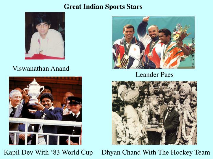 Great Indian Sports Stars