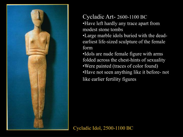 Cycladic Art-
